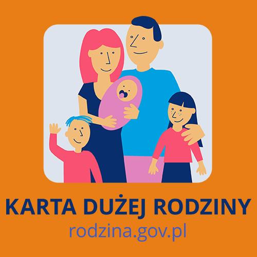 Jesteśmy partnerem Karty Dużej Rodziny