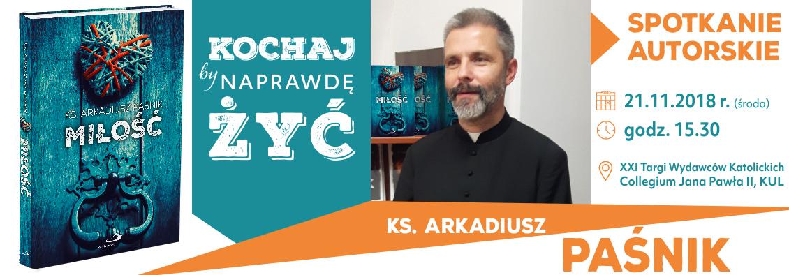Spotkanie autorskie z ks. Paśnikiem