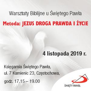 Warsztaty biblijne w częstochowskiej księgarni Świętego Pawła